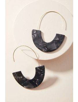 Venita Resin Hoop Earrings by Anthropologie
