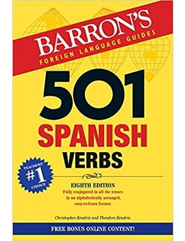 501 Spanish Verbs (501 Verb Series) by Amazon