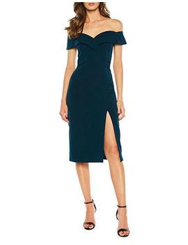 Bella Off The Shoulder Dress by Bardot