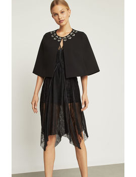 Jewel Trimmed Capelet by Bcbgmaxazria