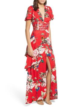 Tiered Ruffle Maxi Dress by Afrm