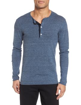 heirloom-cotton-&-cashmere-henley by billy-reid