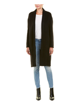 Vince High Collar Camel & Wool Blend Coat by Vince
