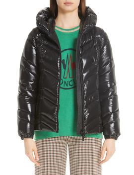 Fuligule Guibbotto Hooded Puffer Coat by Moncler