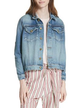 The Boxy Jean Jacket by The Great.