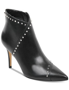 Riva Studded Dress Booties by Marc Fisher