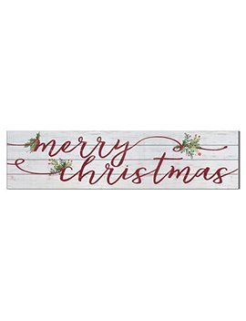 "Kindred Hearts 40""X10"" Merry Christmas Shiplap Wall Sign by Kindred Hearts"