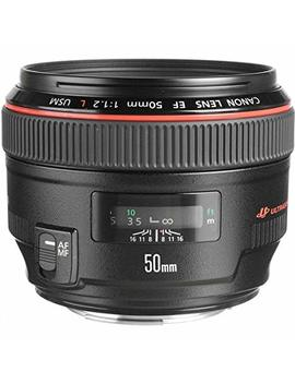 Canon Ef 50mm F/1.2 L Usm Lens For Canon Digital Slr Cameras   Fixed International Version (No Warranty) by Canon