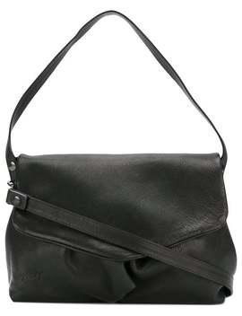 Marsèllfold Over Shoulder Bag Home Women Marsèll Bags Shoulder Bagsdistressed Roll Neck Jumpercropped Trousersfold Over Shoulder Bag by Marsèll