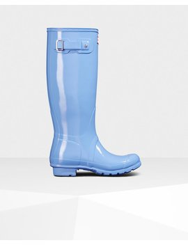"<Span Itemprop=""Name"">Women's Original Tall Gloss Rain Boots</Span>:                     <Span>Vivid Blue</Span> by Hunter"