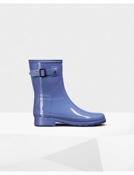 "<Span Itemprop=""Name"">Women's Original Short Refined Gloss Rain Boot</Span>:                     <Span>Adder Blue</Span> by Hunter"