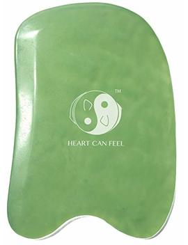 Best Jade Gua Sha Scraping Massage Tool   High Quality Hand Made Jade Guasha Board   Great... by Heartcanfeel