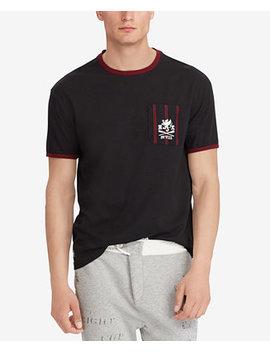 Men's Classic Fit Cotton T Shirt by Polo Ralph Lauren