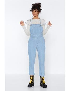 Over To You Denim Overalls by Nasty Gal