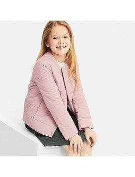 Kids Light Warm Padded Compact Jacket by Uniqlo