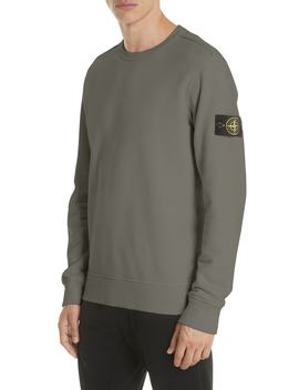 Cotton Knit Sweatshirt by Stone Island