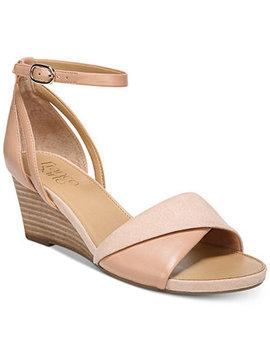 Deirdra Wedge Sandals by Franco Sarto