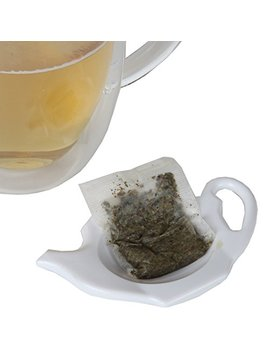 Home X Teapot Shaped Teabag Holders   Set Of 4 by Home X