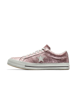 Converse Custom One Star Glitter Low Top by Nike