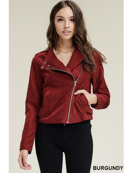 Sassy Suede Jacket by Apricot Lane   Duluth, Minnesota