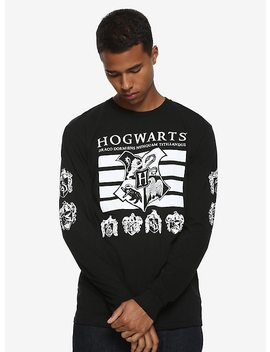 Harry Potter Hogwarts Crest Long Sleeve T Shirt by Hot Topic