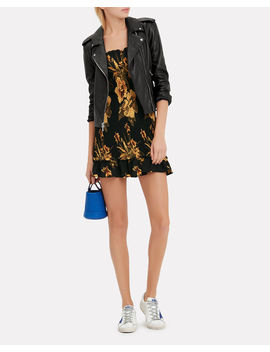 Perfecto Leather Black Jacket by L'agence