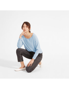 The Cashmere Ballerina Raglan by Everlane