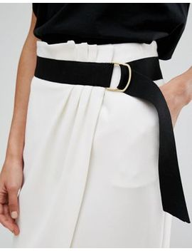 Ba&Sh Belted Pencil Skirt by Ba&Sh
