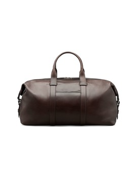 Brown Premium Holdall by Suitsupply