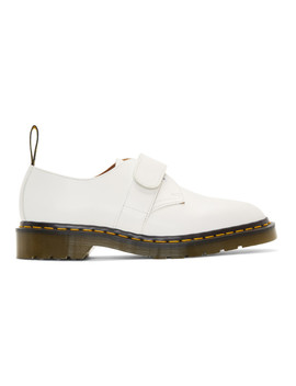 White Engineered Garments Edition 1461 Smith Derbys by Dr. Martens