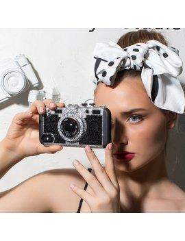 I Phone Xs Max Case, I Phone Xs Case | Bling Camera Case , Bling Camera Shape Iphone Case, Swarovski Phone Case, Christmas Gift For Her by Etsy