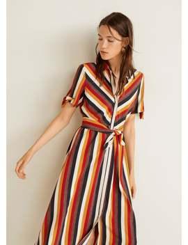 Vestito Camicione Fiocco by Mango