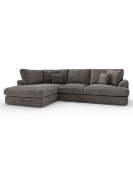 Stratus V Large Chaise End Corner   Left Hand (4 Seats) by Next