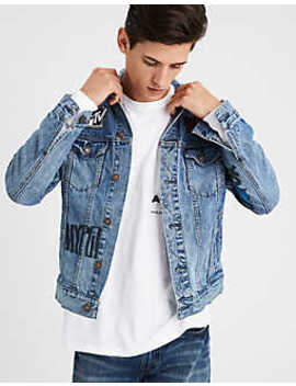 Ae X Mtv Raps Destroy Jean Jacket by American Eagle Outfitters