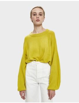 Jule Balloon Sleeve Sweater by Farrow