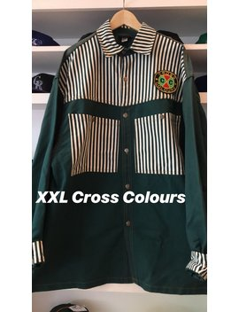 Vintage Custom Cross Colours Deadstock Xxl by Etsy