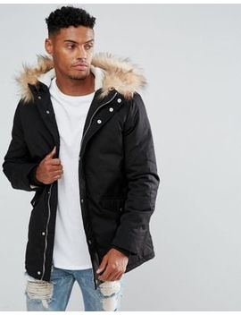 River Island   Parka   Noir by River Island