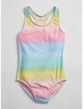 Rainbow Swim One Piece by Gap