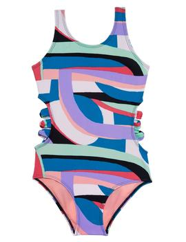 Flying Rainbow One Piece Swimsuit by Gossip Girl