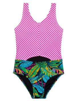 Electric Jungle One Piece Swimsuit by Gossip Girl