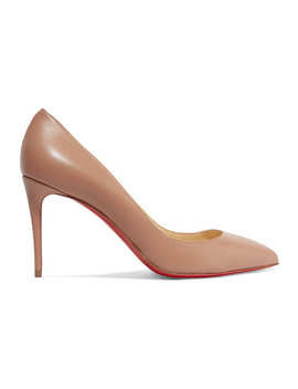 Pigalle Follies 85 Leather Pumps by Christian Louboutin