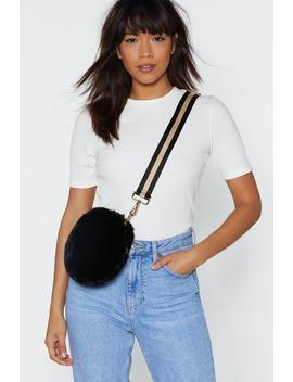 Want Little Bundle Of Joy Faux Fur Bag by Nasty Gal