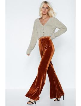 Go Soft On Them Flare Pants by Nasty Gal