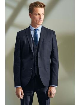 Textured Suit: Jacket by Next