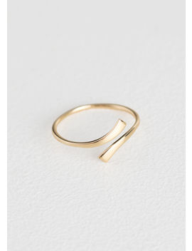 Open Square Edge Ring by & Other Stories