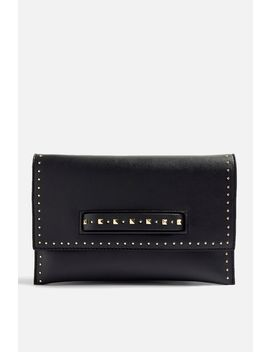 Harley Studded Clutch Bag by Topshop