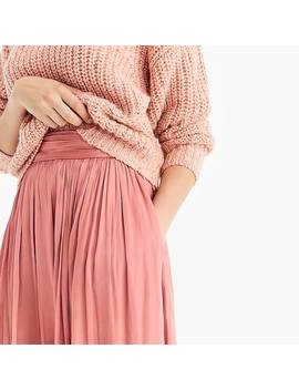 Point Sur Crinkled Maxi Skirt by J.Crew