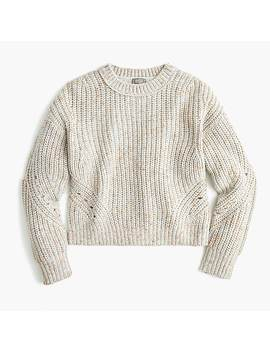 Point Sur Chunky Ribbed Crewneck Sweater by J.Crew