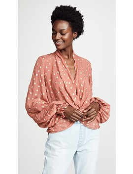 Bette Blouse by Caroline Constas