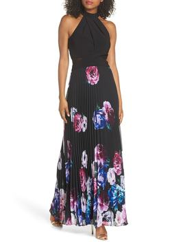 Halter Neck Gown by Xscape